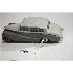 """Dinky Toys """"Rolls Royce Silver Wrath"""" No. 50 in fair condition"""