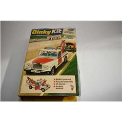 Dinky metal model kit No. 1030, Land Rover Break Down Crane