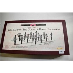 "Boxed set of Britain Metal limited edition ""Centenary Set-The Band of the Corps of Royal Engineers"""