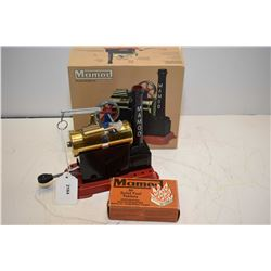 Mamod Steam Engine SP1 in original box, as new with box of 20 solid fuel tablets