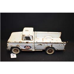 "Vintage Tonka pressed steel Wrecker truck, missing winch, 14"" in length"