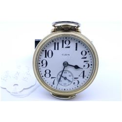 Elgin size 16, 15 jewel pocket watch. Grade 313, model 7. Serial # 30618136 dates to 1928, 3/4 nicke