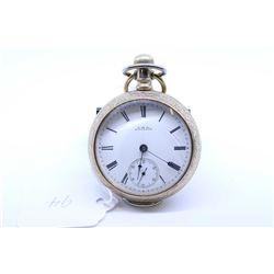 Waltham size 18 pocket watch, 13 jewel Grade R.E Robbins model 1883. Serial # 2787157, dates to 1886
