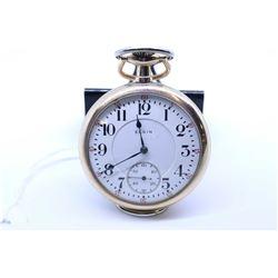 Eligin size 16 pocket watch, 17 jewel grade 342. Serial # 19362125 dates to 1917. 3/4 nicke4l plate,