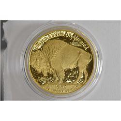 "2006 United States Mint ""Buffalo gold bullion"" $50, .9999 fine gold bullion coin in presentation cas"