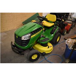 """John Deere S240 hydrostatic drive riding mower with 18.5 hsp engine, 42"""" deck and 31 total hours"""