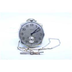 Elgin size 12, 17 jewel pocket watch. Grade 479, model 4. Serial # 29588791 dates to 1927. 3.4 nicke