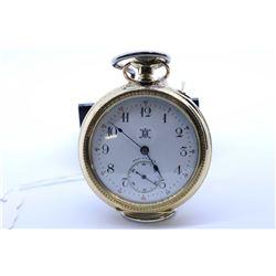 Hampden size 12, 15 jewel pocket watch. Model 3, grade General Stark. Serial # 1363938 dates to 1899
