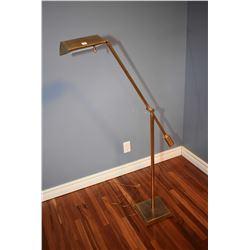 Quality retro floor standing reading lamp