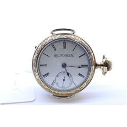 Elgin size 18, 7 jewel pocket watch, grade 96, model 4. Serial # 5325030 dates to 1894. Full gild pl