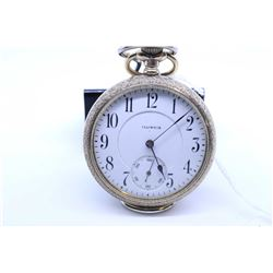 Illinois size 16 pocket watch, 17 jewel model 9, grade 304. Serial # 2233931 dates this watch to 191