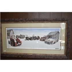 "Framed limited edition print ""Frozen In Time' pencil signed by artist Gordon Drysdale, 378/850"