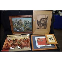 "Selection of collections including a hardcover volume of ""The Life And Art of Charles Schreybogel"","