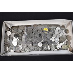 Large selection of Canadian nickels mostly in the 1960s