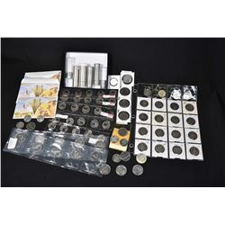Huge selection of Canadian collector coins including decimal sets for the 80s, sealed 1969 dollars,