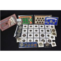 """Selection of American collector coins including """"Americas First Citizens"""", """"Two Centuries of Indian"""