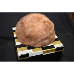 Christine originals mink fur hat