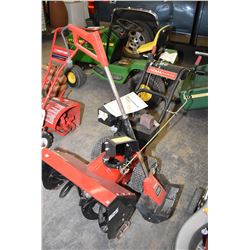 Noma Grand Prix 8.25 dual stage snow blower and a Toro electric snow shovel