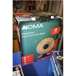New in box Noma Oscillating radiant heater