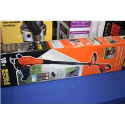 New in box Black & Decker 18 volt cordless edge trimmer