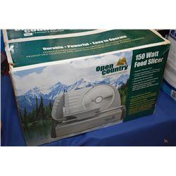 New in box Open Country Sportsman's Kitchen 150 watt food slicer