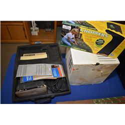 """Black & Decker 7 1/4"""" circular saw, Black & Decker finishing sander in fitted case and a new in box"""