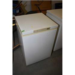 Small Woods brand deep chest freezer
