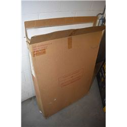 Cardboard box with a large selection of unframed prints