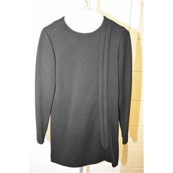 Vintage Oscar De La Renta black mini dress