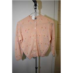 Vintage 100% cashmere by Ballantyne of Peebles, Scottish made cardigan