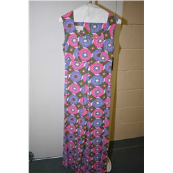 Vintage Arc of Hawaii colourful sleeveless romper