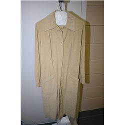 Vintage ultra suede I.Magnin & Co. dress with belt