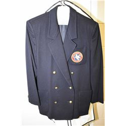 """Vintage wool """"The Fishing 49ers, California club jacket made by Jaeger in Britain"""