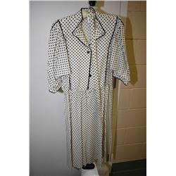 Vintage Albert Capraro for I. Magnin & Co. cotton dress with belt