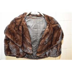 Vintage Mink fur shrug