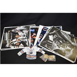 Large selection of reprints of sports photos including Gretzky