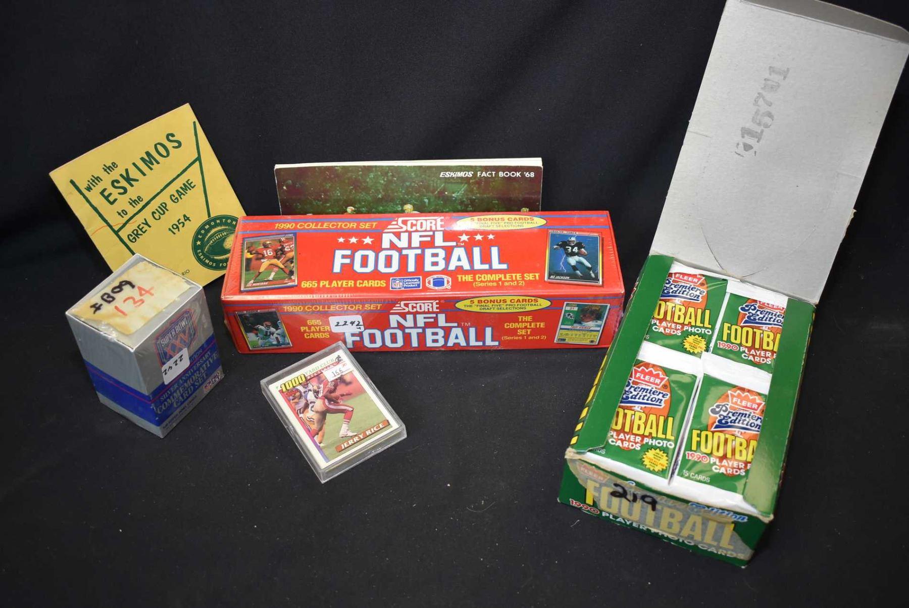 1990 Score Football Cards Factory Set