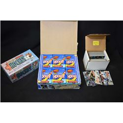 Factory sealed full box of Topps 34 card package 1991 hockey cards, factory sealed 1992-1993 O-Pee-C