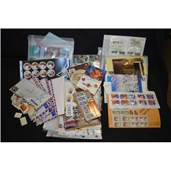 Selection of collectible stamps including some used but mostly new collectible packs in sheaths, Roy