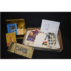 Selection of collectible stamps including mostly used, plus a new U.S. Collector set from 1984, Unit