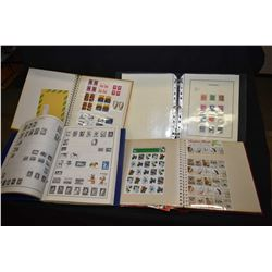 Selection of stamp collector books filled including a large selection of new collector sheets and st