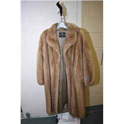 Canada Majestic mink 3/4 length coat from Dunswoody Furs