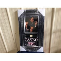 ORIGINAL PROP TANGIERS CASINO GAMING CHIP USED IN FILMING OF CASINO. COA INCLUDED