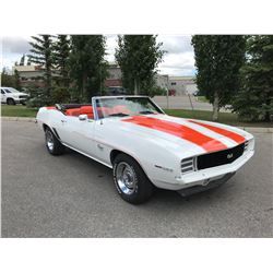 1969 CHEVROLET CAMARO RS SS 396 325HP 4 SPEED PACE CAR CONVERTIBLE