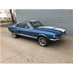 1967 MUSTANG FASTBACK SHELBY