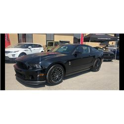 2014 SHELBY GT500 1 OF 3 SHELBYS SELLING EXCLUSIVELY OUT OF COLLECTION ONLY 1000 KMS