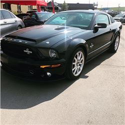 SHELBY COLLECTION 2009 SHELBY GT500 KR ONLY 12800 KMS