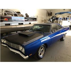 1969 PLYMOUTH ROAD RUNNER 383 4 SPEED MOPAR MUSCLE