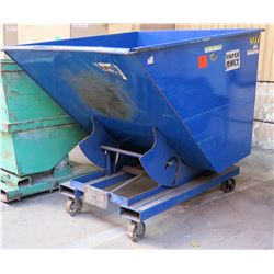"""Vestil Self-Dumping Hopper w/Wheels, Model D-200-LD, 66""""L x 56""""W x 57.5""""H"""