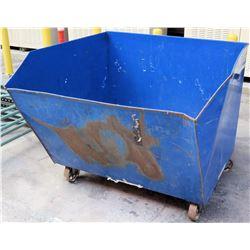 """Vestil Self-Dumping Hopper w/Wheels, Model H-150-LD, 46""""L x 51.5""""W x 43""""H"""
